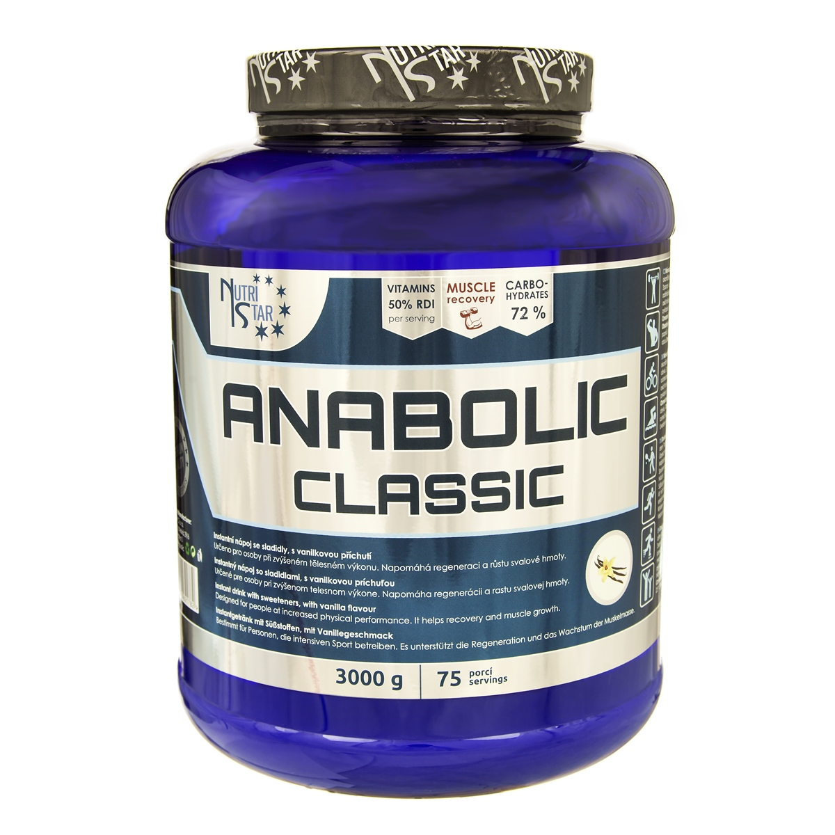 Nutristar Anabolic Classic Gainer 3 kg